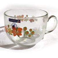 Бульонница Luminarc POP FLOWERS ORANGE Поп Флауэрс оранж - 500 мл.